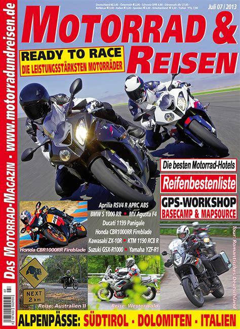 Motorrad News Download by Motorrad Reisen 07 2013 Downloads E Paper Verf