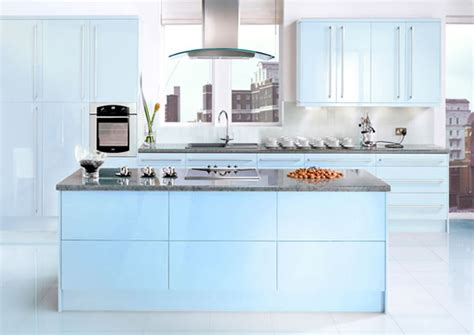 blue kitchen design blue kitchens