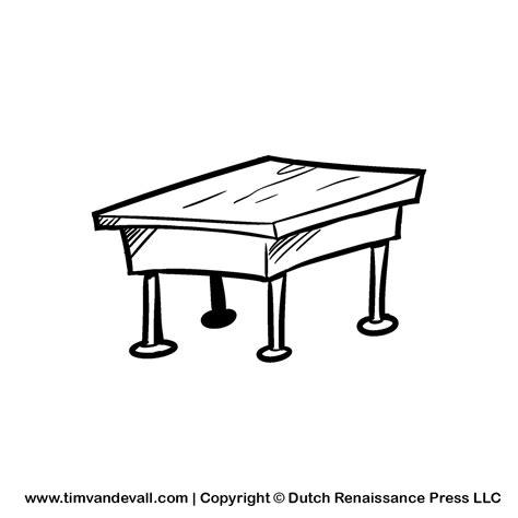 black white desk black and white desk clipart clipartsgram