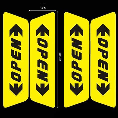 Stiker Mobil Dan Motor Sticker Kucing stiker reflective pintu mobil open warning door yellow jakartanotebook