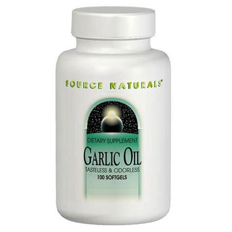 Terbatas Garlic Odorless 1000mg 250 Softgels garlic odorless 500mg 250 softgels source naturals