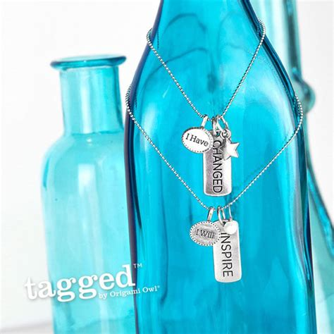Origami Owl Tagged - i will inspire tagged necklace by origami owl origami