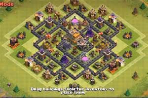 Top 4 th7 war base without no barbarian king 2016 3 air defenses