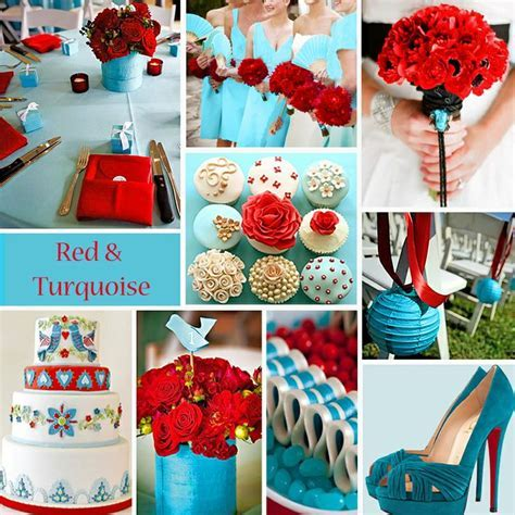 1000  images about Palette: Turquoise & Red on Pinterest