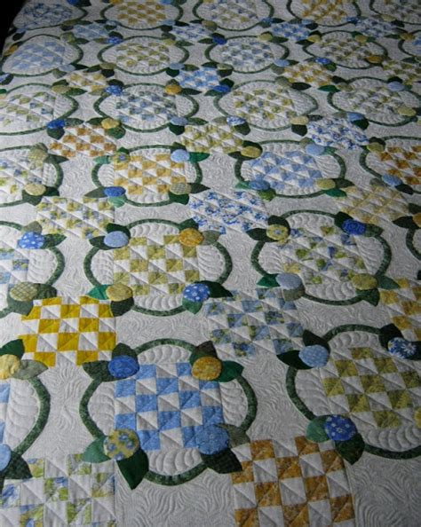 Wedding Patchwork Quilt - 58 best images about ring quilts on country
