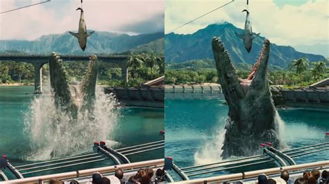 before this world new jurassic world trailer shows already improved cgi