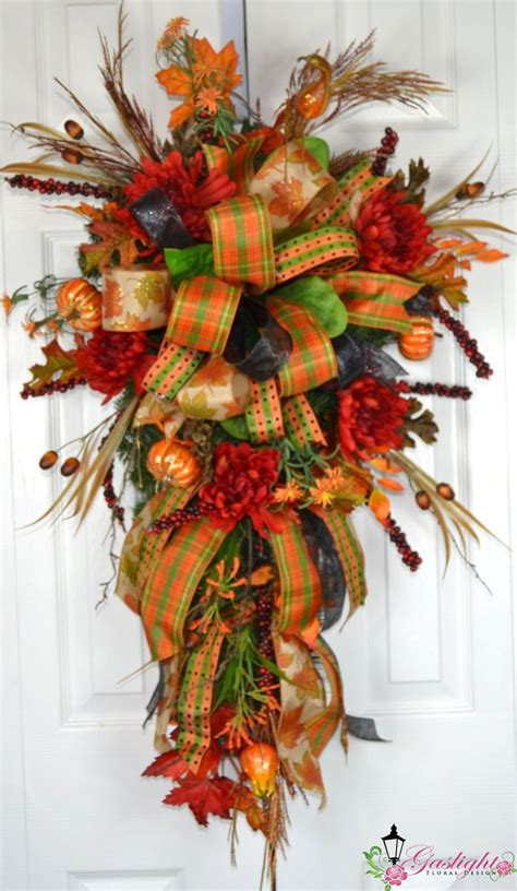 swags and wreaths 17 best ideas about fall swags on fall wreaths