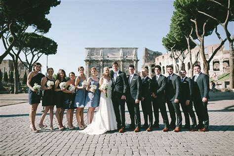 Wedding Anniversary Destination Ideas by An Amazing Destination Wedding In Rome 10 Year Wedding