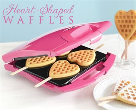 Lustybunny Baby Food Maker Pink say quot i you quot with shaped waffles from babycakes