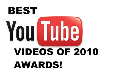 best yutub best youtube videos of 2010 awards one active colony