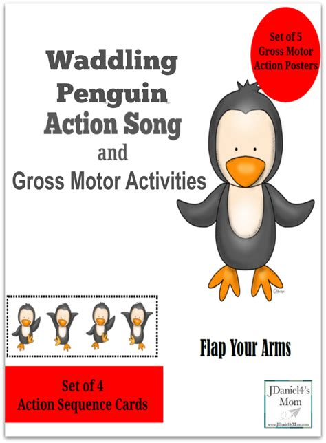 motor and gross motor activities wadding penguin song and gross motor activities
