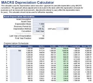 2014 depreciation macrs table