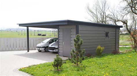 Carport Mit Schuppen by Carports Mit Schuppen Wu93 Hitoiro