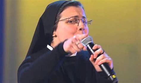 new voice judges 2014 informationdailynews com singing nun cristina scuccia stuns judges on italian