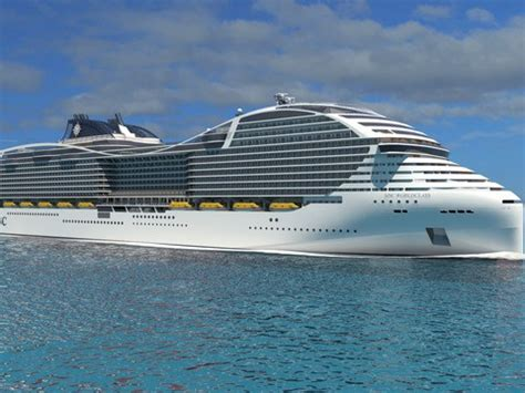 biggest cruise ships in the world in order biggest cruise ship in the world announced by msc cruises
