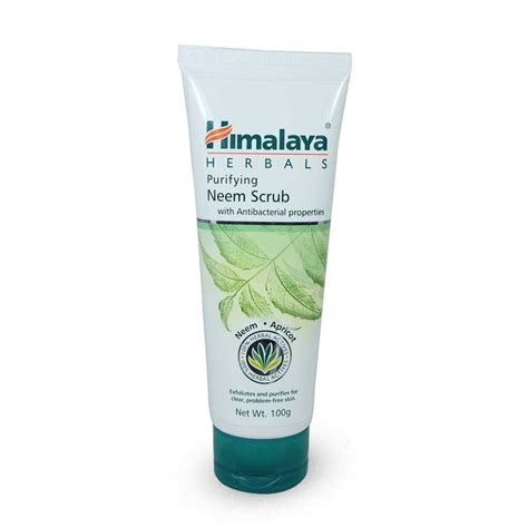 Scrub Himalaya himalaya purifying neem scrub 100g pack of 2