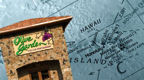 Olive Garden Open Day by Olive Garden Is Opening Its Restaurant In Hawaii Eater