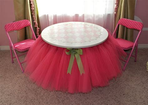 Diy Tutu Table Skirt Decor by Tutu Table Skirt Ideas They Re Not Just For