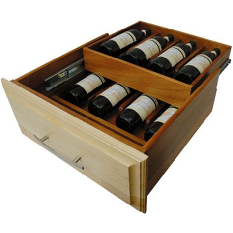 Wine Rack Drawer Insert rev a shelf hafele knape vogt omega national products