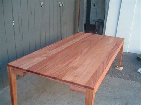 Hand Crafted Suzanne's 8 Foot Long African Mahogany Dining