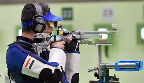 olympics day 9 shooting no for india at the 10m air rifle at the