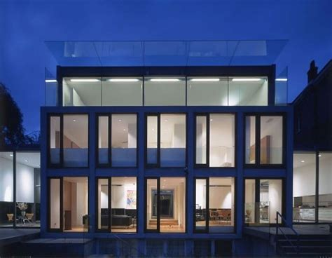 home lighting design london contemporary glass house architecture in highgate village