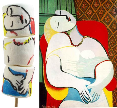 picasso paintings le reve on marshmallows