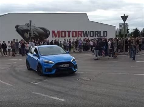 2016 Focus Rs 0 60 by 2016 Ford Focus Rs 0 60 Testing Drive