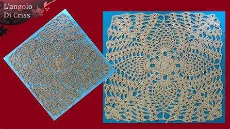 piastrelle uncinetto piastrella alluncinetto moresca crochet square