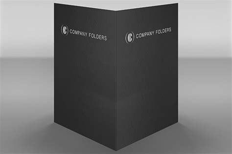 Front Back Folder Mockup Template Free Psd Folder Mockup Free