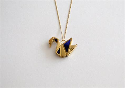 Origami Pendants - origami jewellery by arnaud la76 design