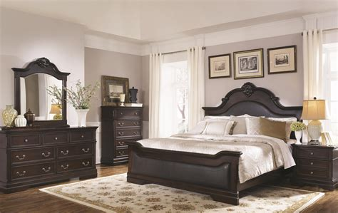 cambridge bedroom furniture cambridge panel bedroom set from coaster 203191q