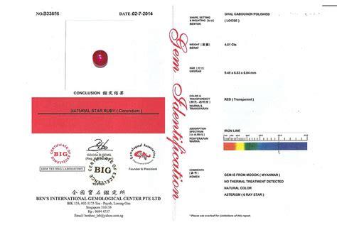 Ruby Burma 004 rbs 281 sertifikat gem jewelly