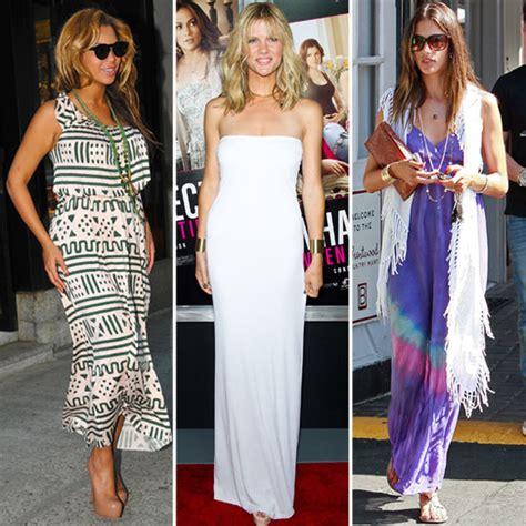 celeb maxi dress celebrities in maxi dresses popsugar fashion