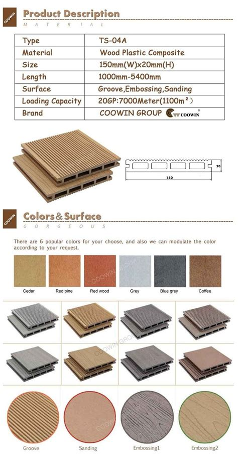 China factory recycled composite plastic lumber buy recycled composite plastic lumber