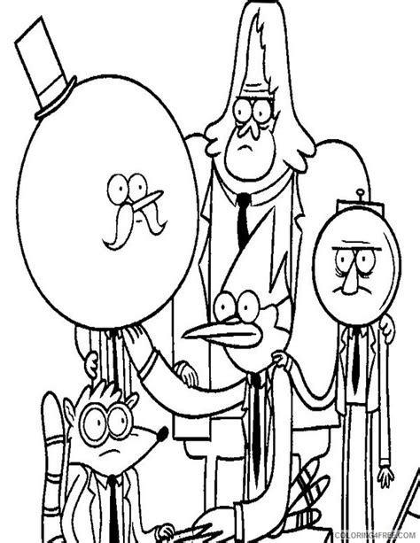printable coloring pages regular show regular show coloring pages to print coloring pages