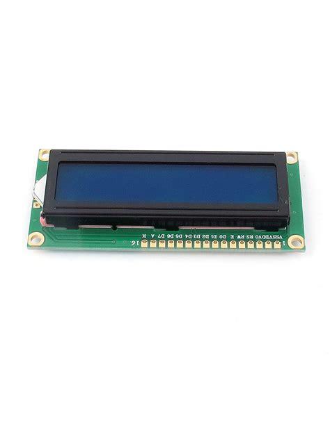 Terbaru Lcd Display 1602 Blue Green For Arduino Lcd 16x2 Kualitas lcd1602 character lcd display module lcm blue backlight 16x2 1602 for arduino ebay