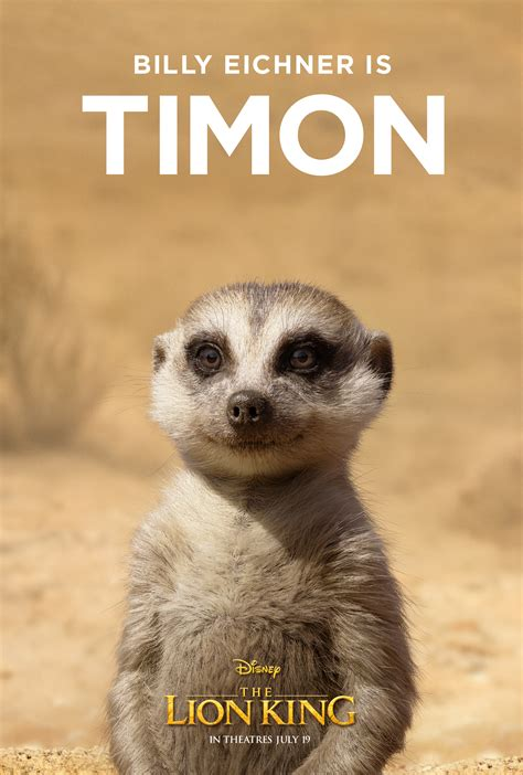 lion king character posters show  realistic  animals nerdist