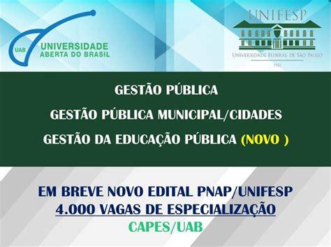 nota de corte uab unifesp uab oferecem especializa 231 245 es gratuitas 224 dist 226 ncia