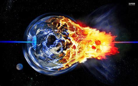 Earth Explosion Wallpaper | exploding earth wallpaper