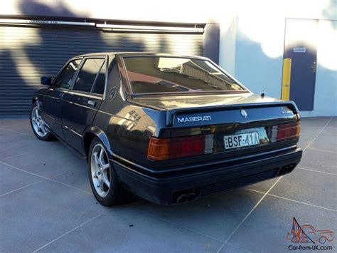 maserati biturbo 425 1985 4d saloon 5 sp manual 2 5l twin maserati biturbo 425 1985 4d saloon 5 sp manual 2 5l twin turbo