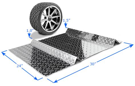 Tire Stoppers For Garage by Park Smart Parking Mat Parkingstop Parking Wedge