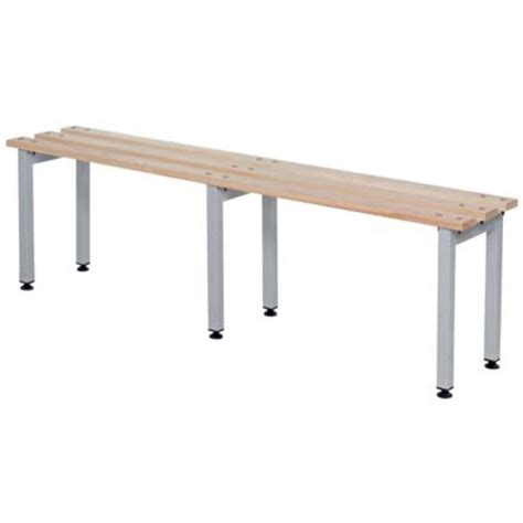 bench depth single or double depth cloakroom bench workplace products