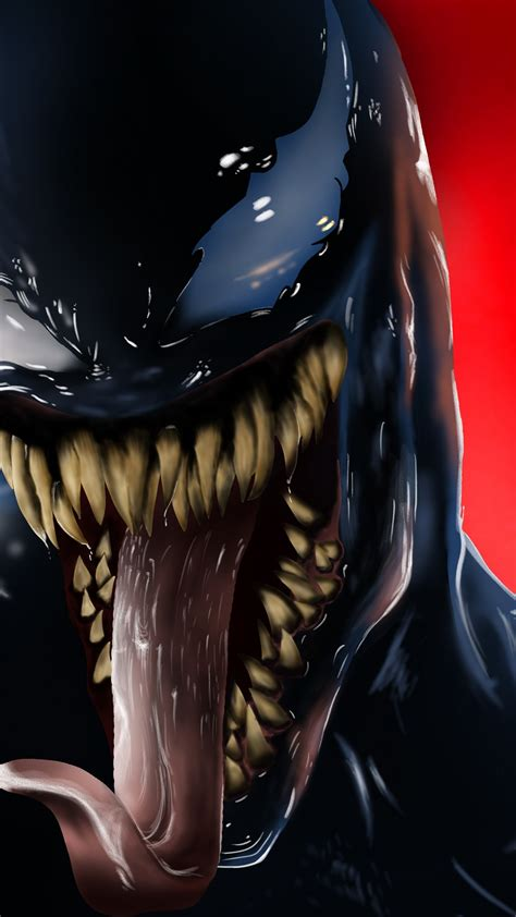 wallpaper venom creative graphics