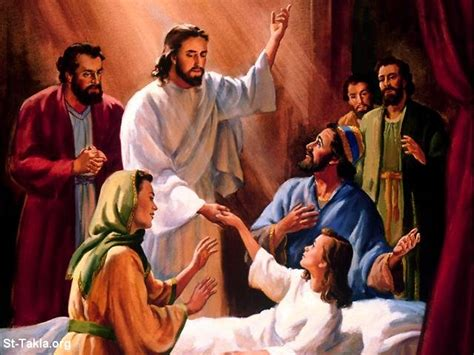 imagenes de jesus sanando raising jairus s daughter mandlastole s blog