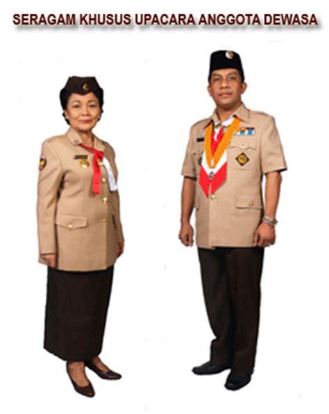 Foto Baju Pramuka Penggalang Putri seragam pramuka kwarran015 s