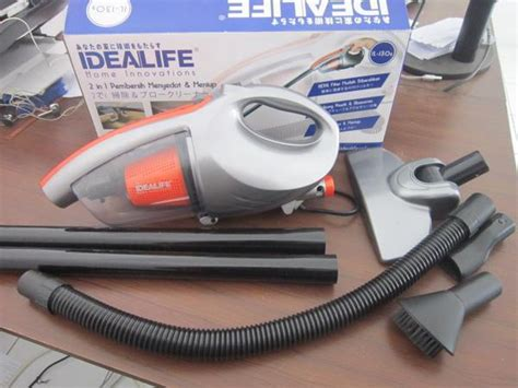 Vacuum Cleaner Debu Dan Air alat penyedot debu dan blower idealife 2 in 1 vacuum
