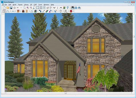 Home Exterior Design Program Free | home designer architectural