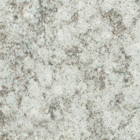 shop allen roth angel ash quartz kitchen countertop sle at lowes com