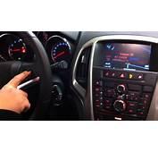 Opel Astra J 2010 Gps Multimedia System  YouTube